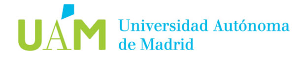 Universidad Autonoma de Madrid, UAM Logo. It is a partner of the project contracts2.0.