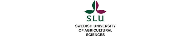 SLU Swedish University of agricultural science Logo. It is a partner of the project contracts2.0.