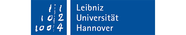 Leibnitz Universität Hannover Logo. It is a partner of the project contracts2.0.