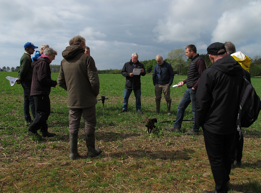 Innovation in the field: The Bornholm CIL visit farms to explore Carbon Farming